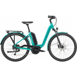 Vélo à assistance électrique Cannondale Mavaro Neo city 4 turquoise