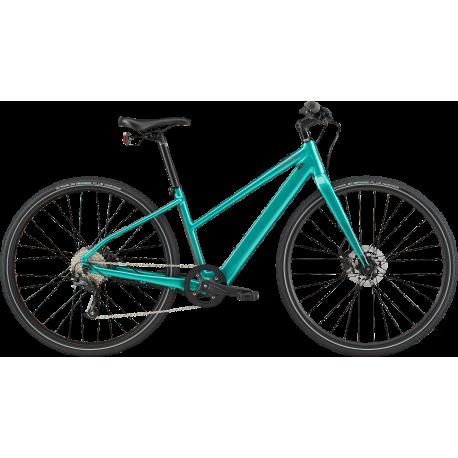 Vélo à assistance électrique Cannondale Quick Neo SL 2 vert