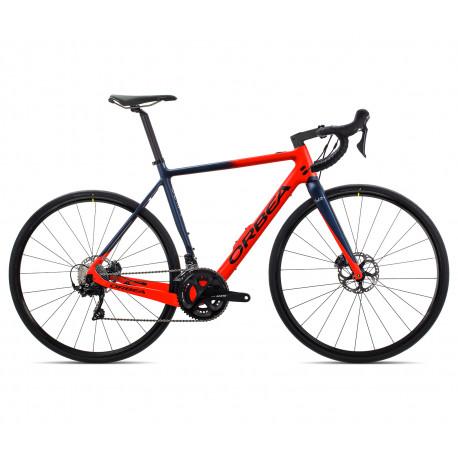Vélo de route à assistance électrique ORBEA GAIN M30 Rouge - bleu