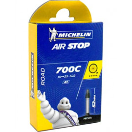 Chambre à air route MICHELIN 700 de 18 à 25 valve presta 25mm